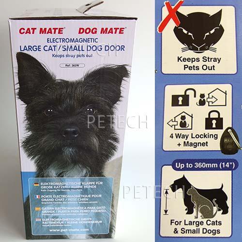 Pet Mate Cat Mate Electromagnetic Large Catsmall Dog Door 363w